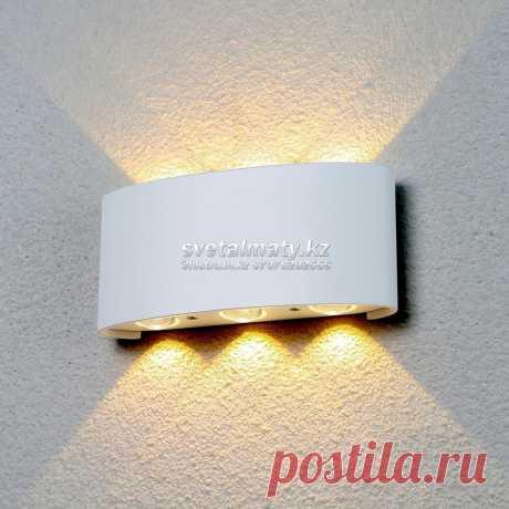 """Уличный настенный светодиодный светильник белый Elektrostandard 1551 Techno LED Twinky Trio: продажа, цена, купить, интернет магазин. уличное освещение от """"AP Svet"""" - 395044548 https://apsvet.ru/g28580375-led-nastennye-svetilniki"""