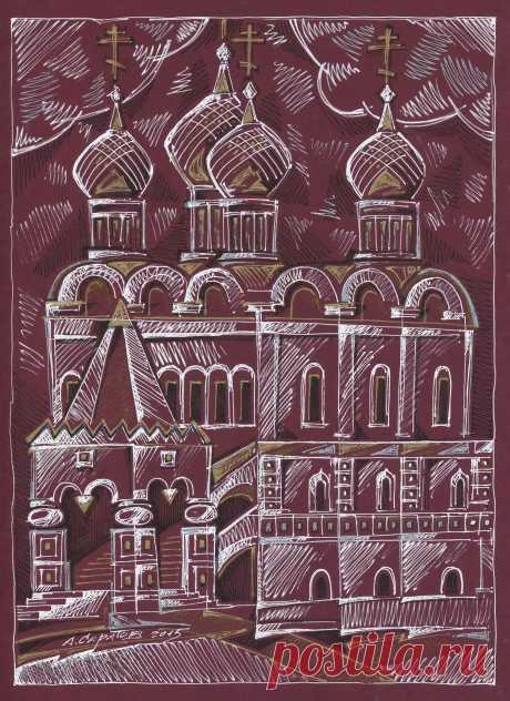 Храм 2015 30х20 см.то.бум.линер