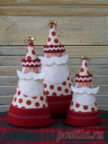 Яркие елочные игрушки и Новогодние подарки с выкройками