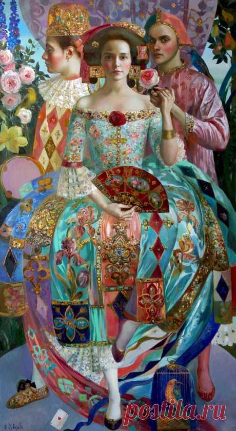 Artwork by Olga Suvorova - Dance, | Painting | Artstack - art online