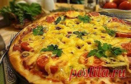 Идеальная тонкая итальянская пицца — по секрету всему свету