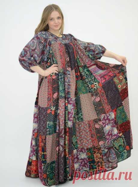 Boho el estilo en la ropa por las manos: los patrones de los vestidos, las faldas, los sarafanes, la túnica, la blusa, kardigana, los pantalones, para las mujeres corpulentas