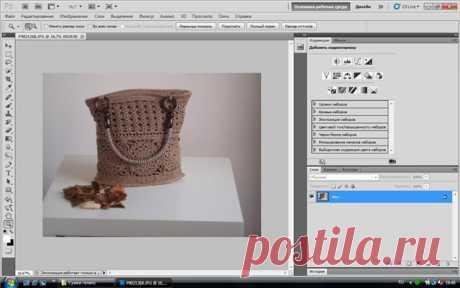 Мастер класс по базовой обработке фотографии в фотошопе. - Ярмарка Мастеров - ручная работа, handmade