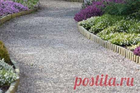 Из чего сделать бордюр для садовой дорожки – 7 вариантов на любой вкус | Бордюры и дорожки.