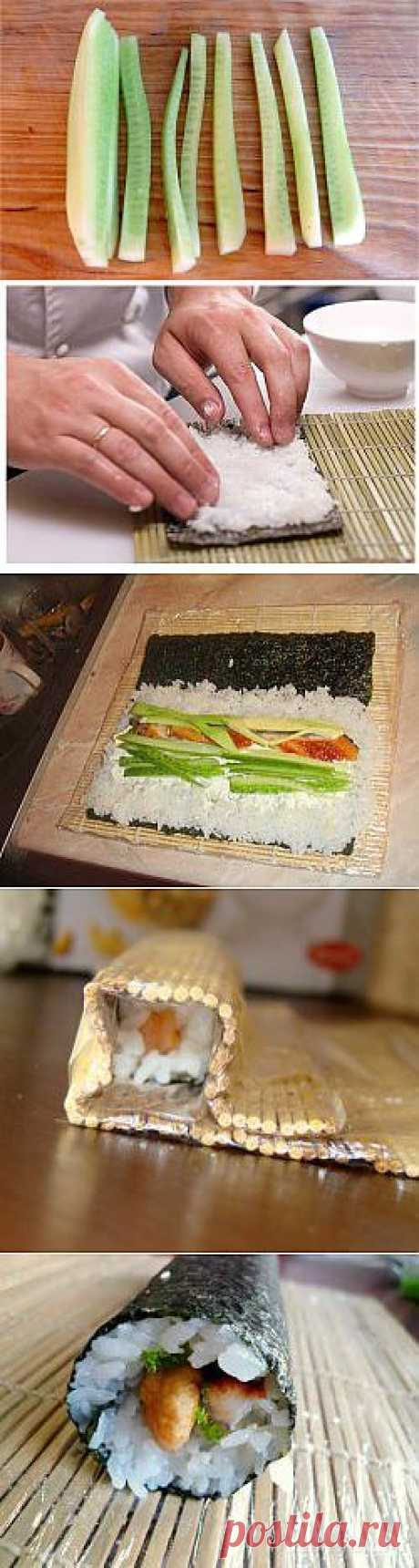How to do sushi in house conditions?