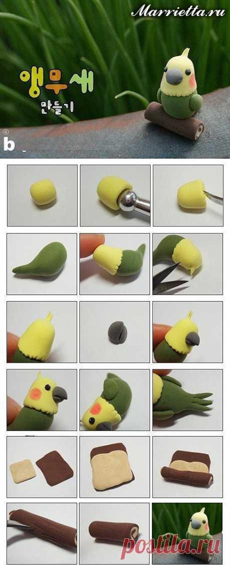 Лепка игрушек из полимерной глины. 8 мастер-классов