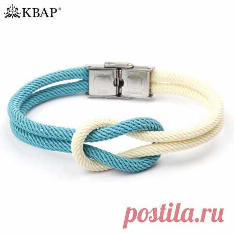 Морской матросский браслет с узлом из веревочки, браслет дружбы, браслеты для мальчиков и девочек, женские и мужские модные ювелирные изделия|bracelets for|friendship bracelets|bracelet fashion - AliExpress