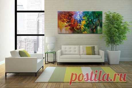 Contemporary wall art Modern Textured PaintingImpasto | Etsy