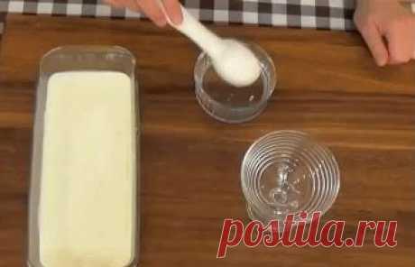 Готовим дома мороженное со вкусом пломбира