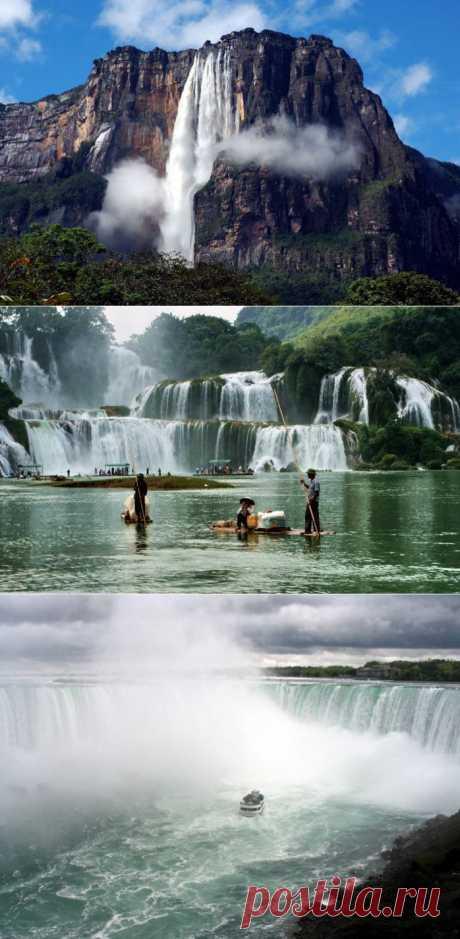 Самые величественные водопады в мире: Обсуждение на LiveInternet