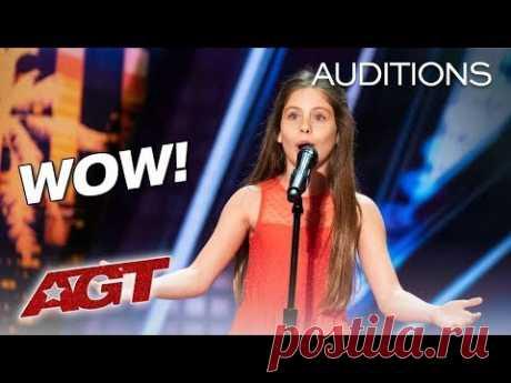 Emanne Beasha | Audition - America's Got Talent 2019 | Nessun Dorma
