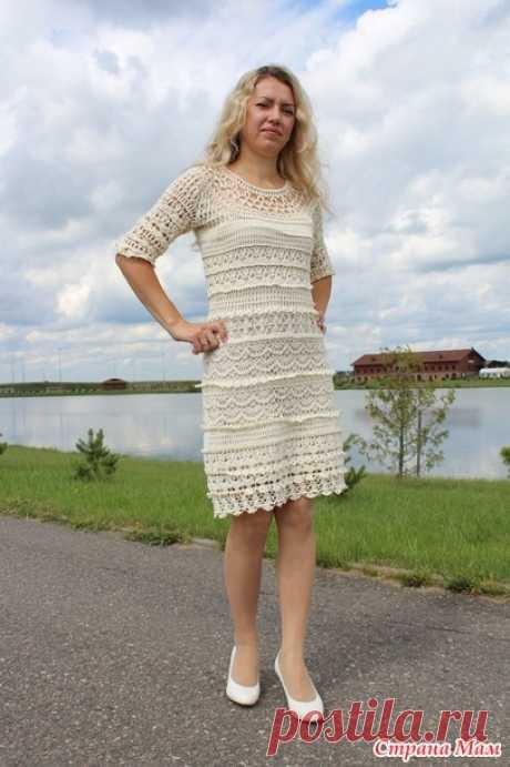 . Платье Оливия - Вязание - Страна Мам
