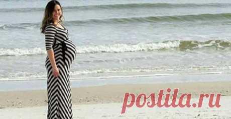 Мужчина сфотографировал свою беременную жену. Но посмотрите на фото внимательнее…