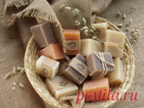 Домашнее мыло для шелковистой кожи
