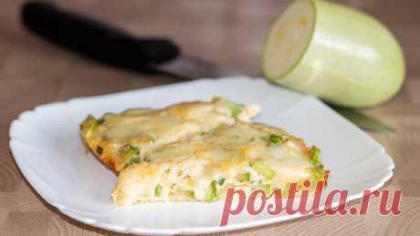 Быстрая закуска из молодых кабачков – Фритата
