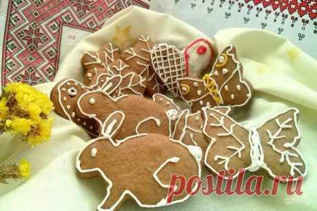 Пасхальные пряники - пошаговый рецепт с фото на Повар.ру