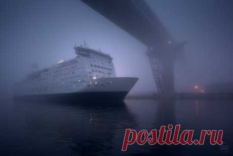Фотография Сквозь туман из раздела город №6889476 - фото.сайт - Photosight.ru