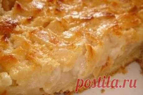 Как приготовить цветаевский яблочный пирог - рецепт, ингредиенты и фотографии
