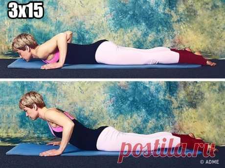 9 упражнений от Синди Кроуфорд, которые преобразят ваше тело за 10 минут в день | OK.RU