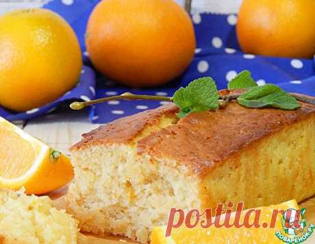 Постный апельсиновый кекс – кулинарный рецепт