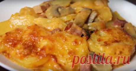 Картофель в духовке: идеальное блюдо к ужину
