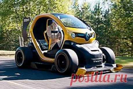 Тест-драйв Twizy RenaultSport F1