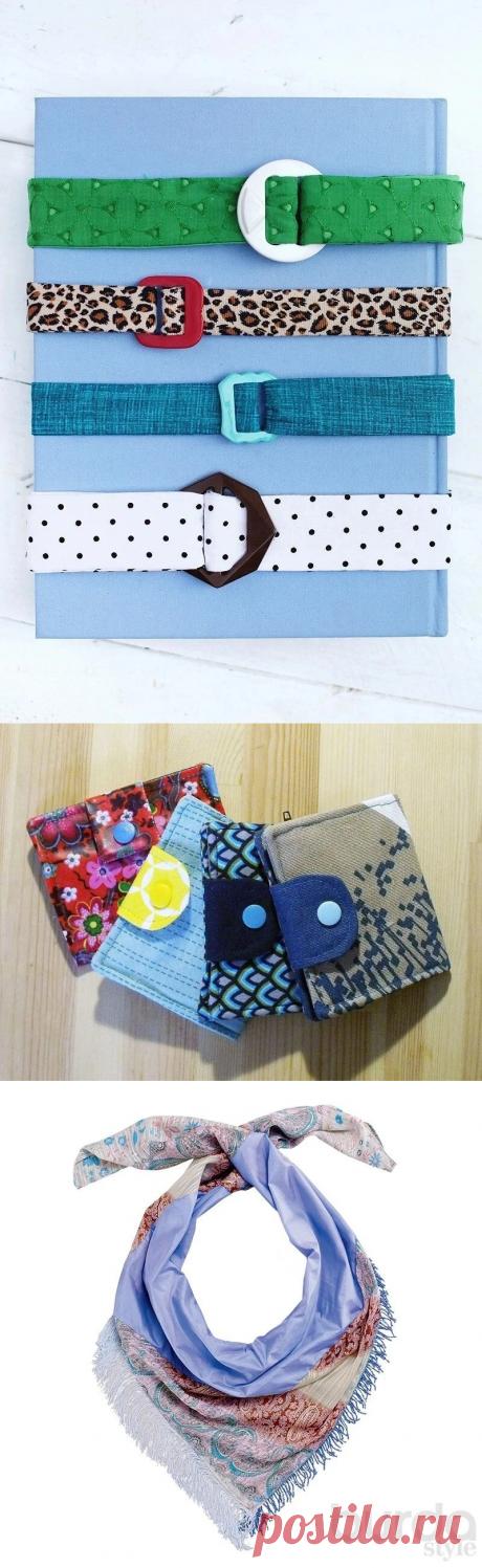 Что сделать из лоскутков ткани: большая подборка идей — Мастер-классы на BurdaStyle.ru