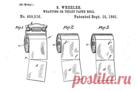 Как правильно вешать туалетную бумагу, к себе или от себя: патент 1891 года ставит точку в вечном споре | Визуал | Яндекс Дзен
