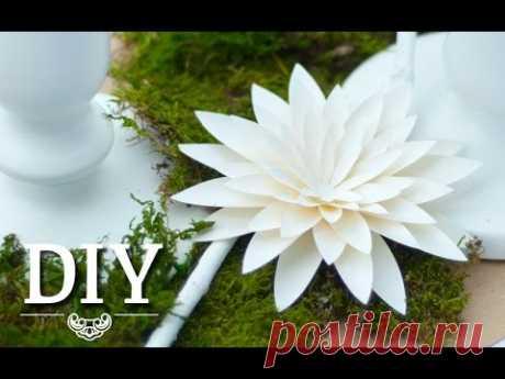 DIY: Hübsche Dahlien aus Papier selber machen | Deko Kitchen