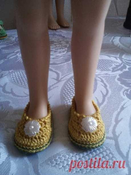 Мастер-класс по туфелькам от Тинатин Звездилина !! #вяжем_PaolaReina32см@kasatkadolls  Дорогие девочки. Делюсь с вами МК туфелек для наших красавиц Паолочек.   Показать полностью…