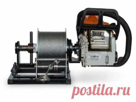 Полезные насадки на бензопилу превратят ее в лодочный мотор, мотобур, дровокол и др.