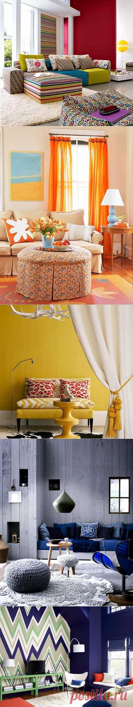 Цвет в дизайне интерьера | Официальный сайт дизайнера Галины Татаровой Design Club