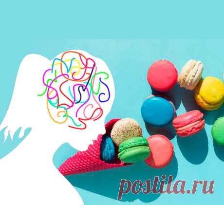 """Как сахар влияет на психичекое здоровье... - Познавательный сайт ,,1000 мелочей"""" - медиаплатформа МирТесен Исследования связывают сладкие напитки, как сахаросодержащие, так и искусственно подслащенные, с повышенным риском развития депрессии, причем самый высокий риск связан с диетическими фруктовыми напитками и диетической газировкой. Пища оказывает огромное влияние на тело и мозг , и потребление"""