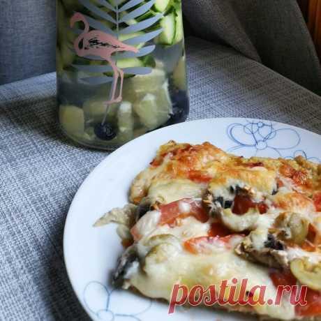 Рецепт: пп пицца без теста | Блог о косметике и красоте Dareas Beauty