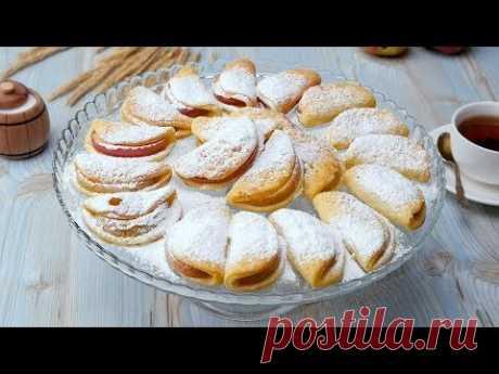Творожное печенье с яблоками - Рецепты от Со Вкусом