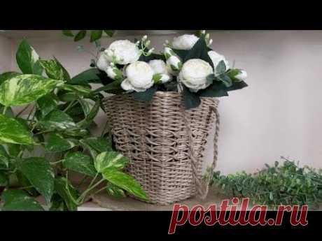 Плетеные корзины для подарочных букетов/Wicker baskets for gift bouquets