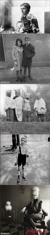 Фотограф Диана Арбус завоевала признание в мире фотоискусства благодаря упорной работе со всеми изгоями общества - она раскрывала личность каждого из них!