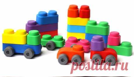 4 новых набора конструктора «Мягкие кирпичики» с колёсиками