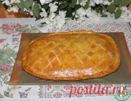 Песочный пирог с фаршем и картофелем – кулинарный рецепт