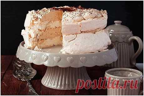 Торт-безе с кофейным ароматом