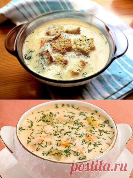 Soup cheese - 58 recipes