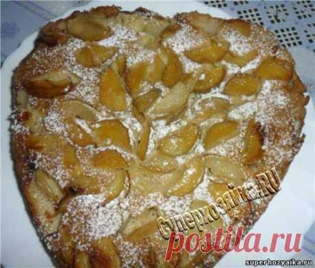 Пирог с яблоками. Рецепт с фото. Быстрый яблочный пирог