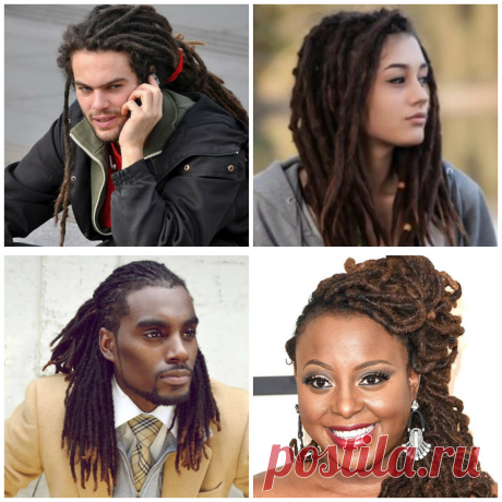 Dreadlocks hairstyles 2019: hairdos with dreadlocks for men and women