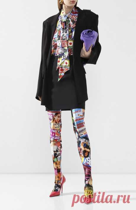 Женские разноцветные леггинсы BALENCIAGA — купить за 39950 руб. в интернет-магазине ЦУМ, арт. 625333/TILQ1