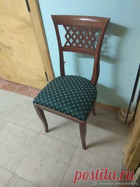 Реставрация красивого стула. Часть 1. Разборка и оценка предполагаемой работы – Ярмарка Мастеров