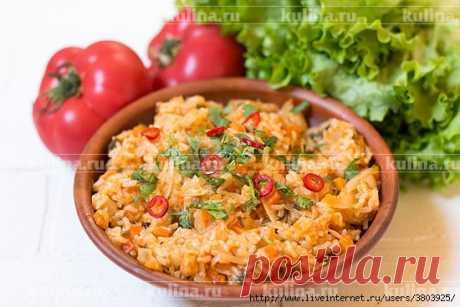 Лаханоризо - это капуста с рисом по-гречески: просто-вкусно-постного блюда