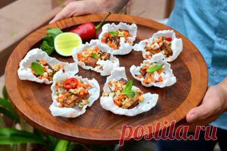 Recipe: Vietnamese-Inspired Rice Crisps