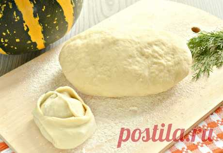 Постное тесто для мантов (без яиц) - рецепт с фото пошагово