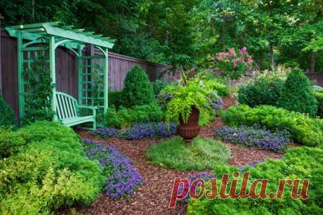 14 идей для необычных садовых решений, скамейки, беседки, калитки