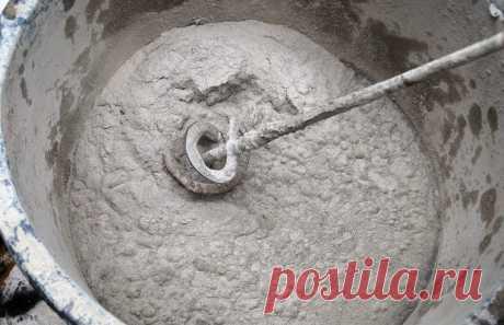 ¿Plastifikator para la disolución de cemento – como hacer de los materiales de circunstancias?